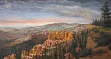 Richard Iams | b. 1950<br>Canyon Landscape