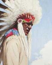 Dwight Roberts | b. 20th C.<br>Otoe Chief