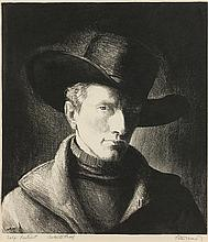 Peter Hurd | 1904 - 1984 NA<br>Self Portrait