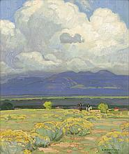 Ernest Martin Hennings | Riders in Taos Valley