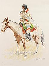 Frederic Remington | A Bunch of Buckskins: An Indian Scout