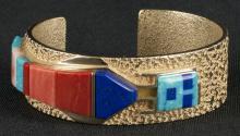 Al Nez | Navajo Corn Maiden Bracelet