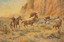 Joe Beeler | New Mexico Incident, Hooker Ranch - 1885