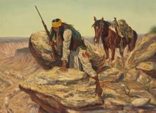 Joe Grandee | Apache on Mountain