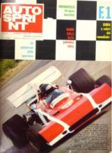 3348  -  [Magazines, Annuals] Autosprint 1970-1974 [Total 7]