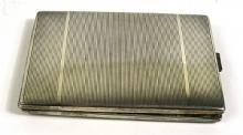 [Silver] A Silvered Cigarette Case