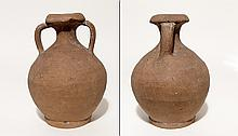Roman two handled jug, 3rd - 4th Century AD