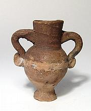 A small Hellenistic votive amphora