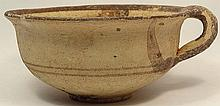 Cypriot Bichrome- ware single handled bowl