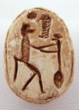 A New Kingdom Egyptian steatite scarab
