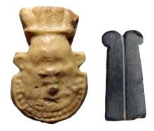 A pair of nice Egyptian amulets