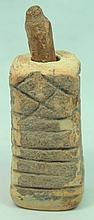 Egyptian bone kohl jar