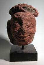 A wonderful Majapahit head from Java, ca. 1300 - 1500 AD