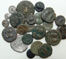 A lot of 22 mixed ancient coins