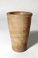 Attractive Egyptian banded alabaster vessel