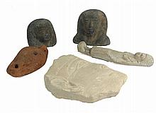 A collection of 5 20th Century Egyptian tourist pieces