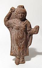 Egyptian ceramic figure of a goddess