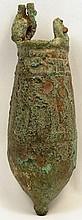 A cast bronze situla, Late Period
