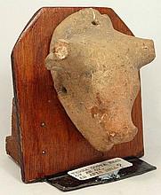 A Greek Bull protome