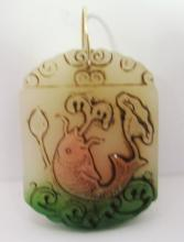 CHINESE JADE HAND CARVED PENDANT