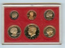 1981 S UNITED STATES FROSTED PROOF SET