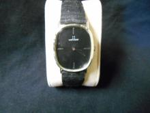 Vintage Movado Mens Solid 14K white gold watch