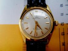 Vintage Men's TUDOR OYSTER PRINCE WATCH 18k gold OLD