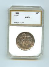 1926 Oregon Half Dollar AU58