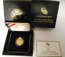2012 Star-Spangled Banner Commemorative Coin Program.