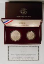 Robert F. Kennedy Memorial 1998 Commemorative 2 coin
