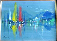 George Richard Deakins [1911-1982], watercolour of