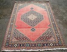 Persian Ardebil carpet, central diamond section