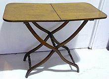 Georgian mahogany coaching table, circa 1770, of