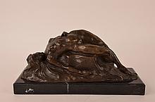 Antoine Louis Bayre, 1795-1875, bronze figure