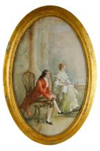 19th C. American Watecolor Painting, Signed