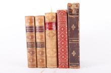 5 Vols: Lew. Wallace, Ingelow...