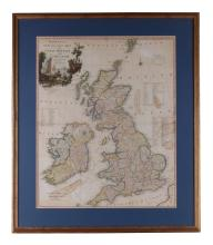 A Large Great Britain and Ireland Map