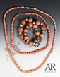 Three Of 19th C. Chinese Coral Necklace