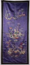Chinese 19th C. Embroidery Depicting Landscape