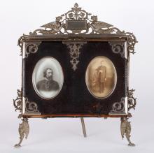 Russian Bronze Photograph Album