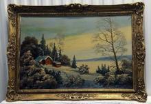 Ivan Ivanovich Kowalski( Russian 1839 - 1937 )Oil