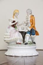 Italian Capodimonte Porcelain Figures