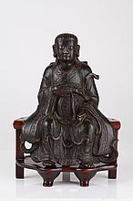 Ming Dynasty Bronze Figure of Zheng Wu Da Di