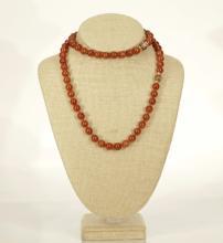 A Nice Polish Agate Necklace