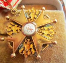 Imperial Russian Gold Order St.Stanislaus 3rd Clas