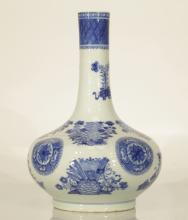 18th C. Chinese Blue/White Porcelain Vase
