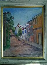 Hanna Rudzka-Cybisowa 1897 - 1988, oil on art board