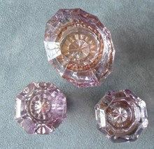 Three Good Glass Doorknobs