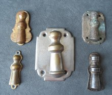 Group of Keyhole Escutcheons From the 1860s