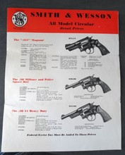 Smith & Wesson All Model Circular from 1941